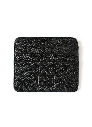 Leather & Paper Deri Kredi Kartlık Siyah